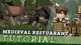Download Minecraft Tutorial: Building A Medieval Restaurant / Brewery! Video