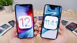 Download iOS 12 vs 11.4.1 FINAL Speed Test! Actually 2x Faster?? Video