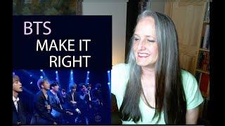 Download Voice Teacher Reaction to BTS Make It Right - Stephan Cobert Live Video