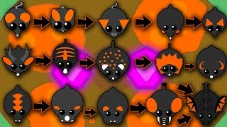 Download MOPE.IO ALL THE ANIMALS IN THE LAVA BIOME! TILL BLACK DRAGON! (Mope.io) Video