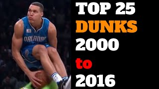 Download Top 25 NBA Slam Dunk Contest Dunks of All Time (2000-2016) HD Best List Video