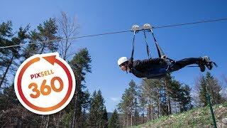 Download 360 VIDEO: Zip line - Pazi medo - Rudopolje Video