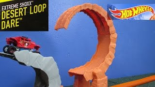Download Desert Loop Dare Extreme Shoxx Hot Wheels Track Set Review By Race Grooves Video