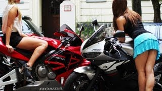 Download GIRLS GONE WILD Part 1 - ZX-6R vs R6 vs CBR 600 RR - TOP SPEED [1080p] Video