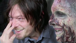 Download The Walking Dead | pranking Daryl / Norman Reedus (2014) Video