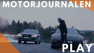 Download Porsche Panamera Turbo (2017) & Audi S8 Plus. Video