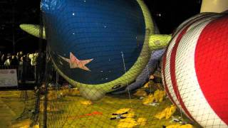 Download Macy's Thanksgiving Day Parade Balloon Inflating Video