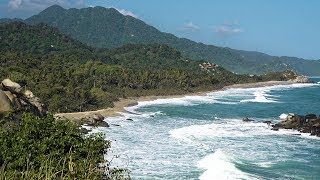 Download Tayrona National Park, Colombia in 4K Ultra HD Video