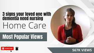 Download Top 3 signs your loved one with dementia needs nursing home care Video