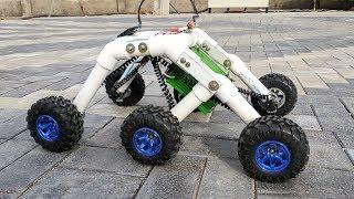 Download How to Make a Mars Rover / Rocker bogie Robot - Stair climbing Video