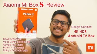 Download Xiaomi Mi Box S 4K HDR Google Certified Android TV Box Review India... Video