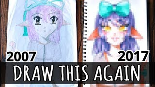 Download ☆ DRAW THIS AGAIN || My First Drawing! (10 Years of Improvement)☆ Video