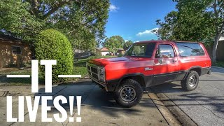 Download 5 Speed Cummins Swapped Ramcharger First Drive! Video