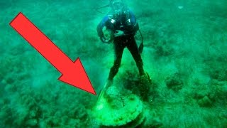 Download 10 BIZARRE Things Found Underwater Video