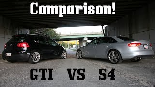 Download Audi B8.5 S4 vs MkV GTI: Owner's Comparison Video