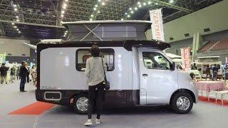 Download 너무 작고 스마트한 캠핑카 - Tiny Pop up Camper D Tentmushi - Japan Camping Car Show 1 Video