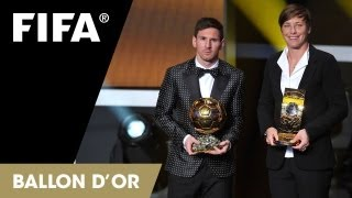 Download Messi wins a fourth, Sundhage sings Video