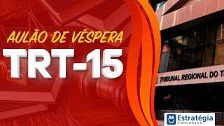 Download Revisão de Véspera TRT Campinas (TRT15) AO VIVO ÀS 8h30min Video