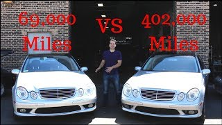 Download 402k Mile VS 69k Mile E55 AMG dyno battle.Then One Broke. Video