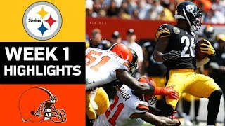 Download Steelers vs. Browns | NFL Week 1 Game Highlights Video
