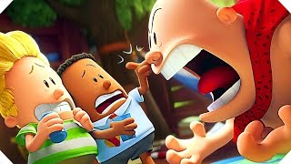 Download CAPTAIN UNDERPANTS - ″Aaaaargh-HA-Ooooooh-Laaaaa″ Movie Clip (Animation, 2017) Video