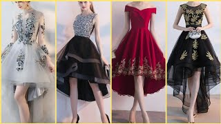 Download Top Stylish High Low Prom Dresses | Tulle Homecoming Short Prom Dresses Video