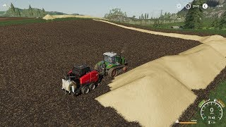 Download Farming Simulator 19 Timelapse #2 | Unrealistic $1 trillion Challenge on Felsbrunn | GRAIN TRAIN. Video