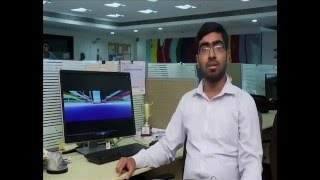 Download Abhishek Sinha, Engineer with Infrastructure BU talks about Digital Engineering Video