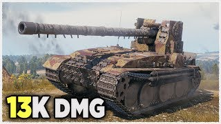 Download Grille 15 • 13K damage WITHOUT GOLD AMMO • WoT Gameplay Video