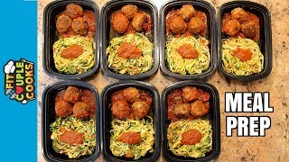 Download How to Meal Prep - Ep. 54 - SPAGHETTI AND MEATBALLS Video