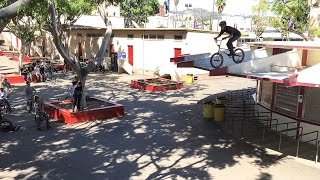 Download 15 YEAR OLD RIDES HIS BMX OFF THE ROOF Video