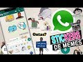 Pack de STICKERS de MEMES para WhastApp 2019! Para Android y IPhone