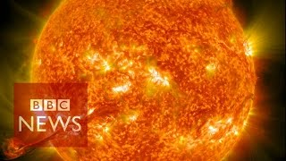 Download Nasa captures incredible 4k images of the Sun - BBC News - BBC News Video