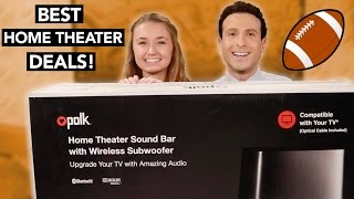 Download Top Home Theater Deals for 2017- Get it for the Super Bowl! Video