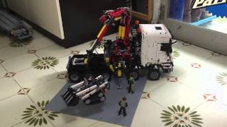 Download Lego technic 42043 RC A &B Video