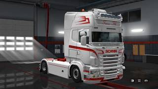 Download Euro Truck Simulator 2 1.28 | Scania RJL v2.2.1 Video