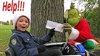 Download Bad Grinch steals Santas Christmas List a silly funny epic kids video featuring the Assistant Video
