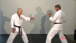 Download Defensive strategies and counter attacks to a Masashi Geri (roundhouse kick). Video