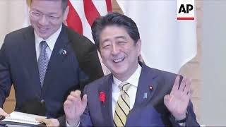Download U.S. Secretary of State Mike Pompeo arrives in Japan Video