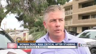 Download Police say man stabbed woman before stabbing himself Video