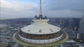 Download Drone crashes into Seattle's Space Needle Video