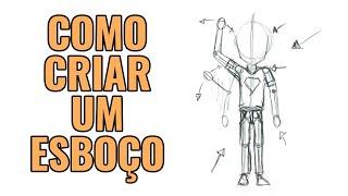 Download CRIAÇÃO DE PERSONAGEM - ESBOÇO Video