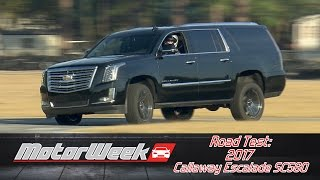 Download Road Test: 2017 Callaway Escalade SC560 - Loco Luxury Video