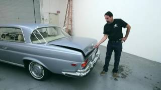 Download 1971 Mercedes 3.5 Coupe - 3,000+ hour restoration Video