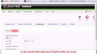 Download How to add Paypal functionality to your Joomla! forms using the RSForm!Pro Paypal Plugin Video