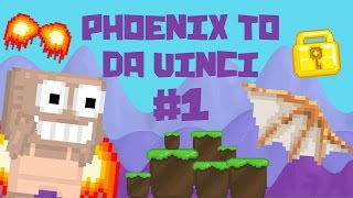 Download Growtopia - Phoenix To Da Vinci #1 | A NEW START!! Video