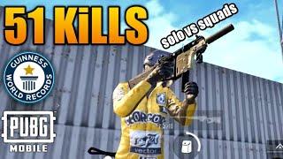 Download 51 Kills NEW WORLD RECORD | Solo VS Squad | PUBG Mobile Video