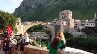 Download Mostar City Walk, Visit Bosnia Video