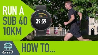 Download How To Run A Sub 40 Minute 10km Race! | Running Training & Tips Video