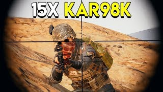 Download 15X KAR98K - PlayerUnknown's Battlegrounds (PUBG) Video